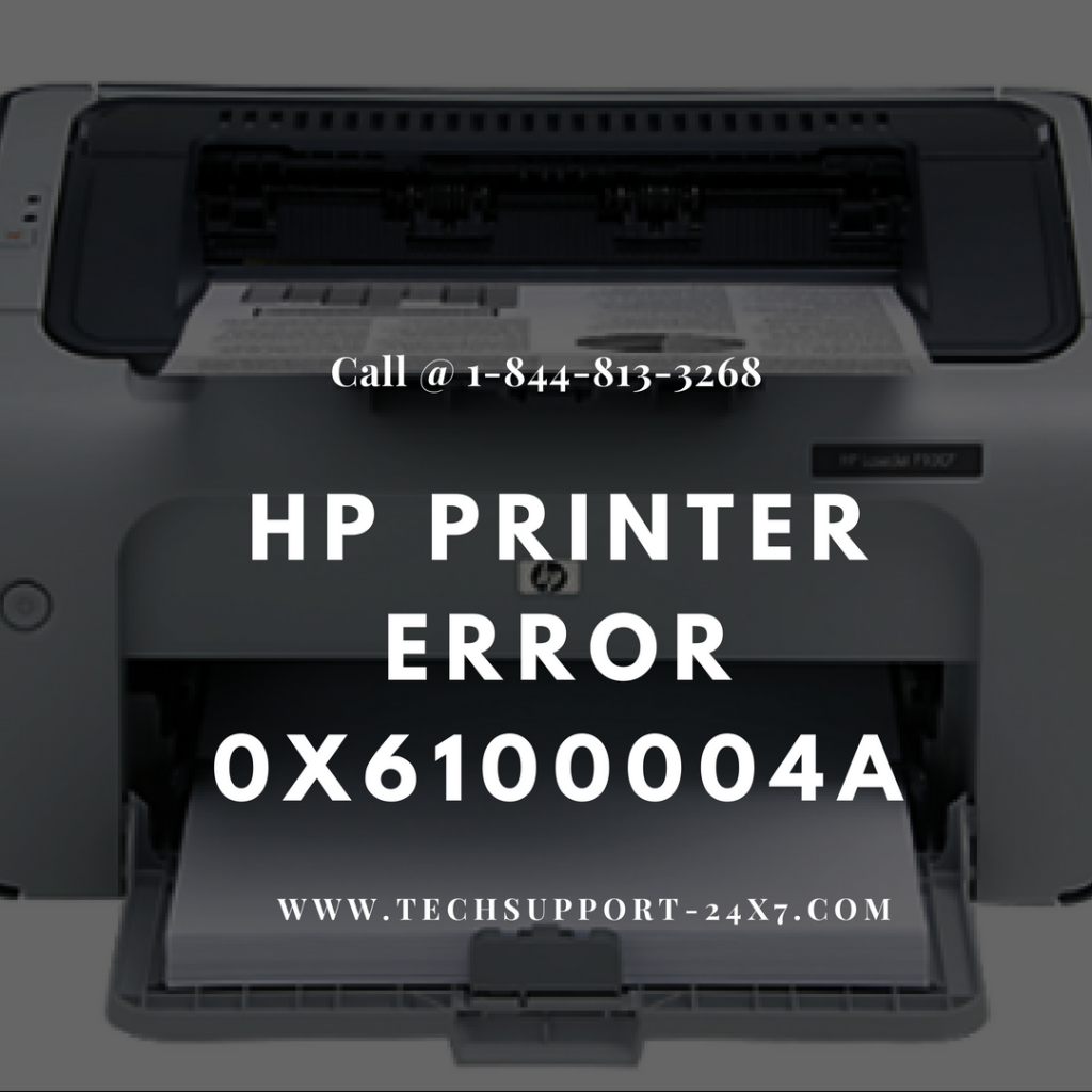 Hp printer error 0x6100004a