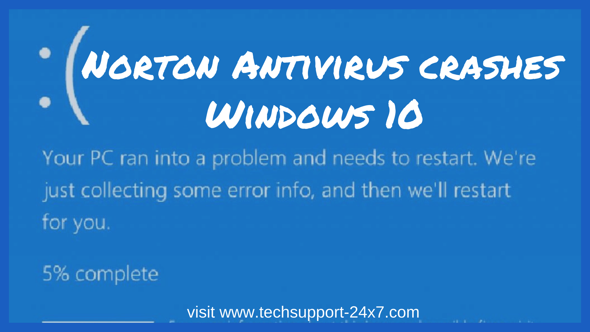 Norton Antivirus crashes Windows 10