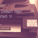 Hp printer cannot print after windows 10 update