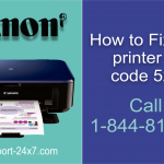 Canon Printer Error 5200