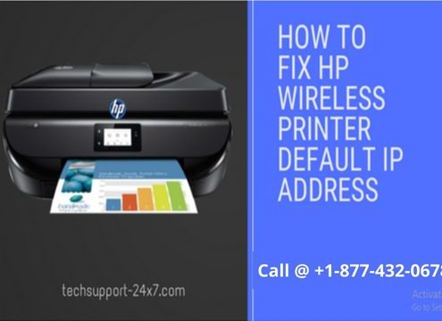 HOW TO RESOLVE HP WIRELESS PRINTER DEFAULT IP ADDRESS