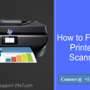 Canon Printer Not Scanning
