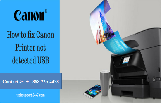 Canon Printer not detected USB