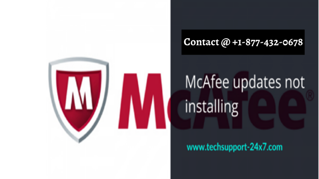 WHY MCAFEE UPDATES IS NOT INSTALLING?