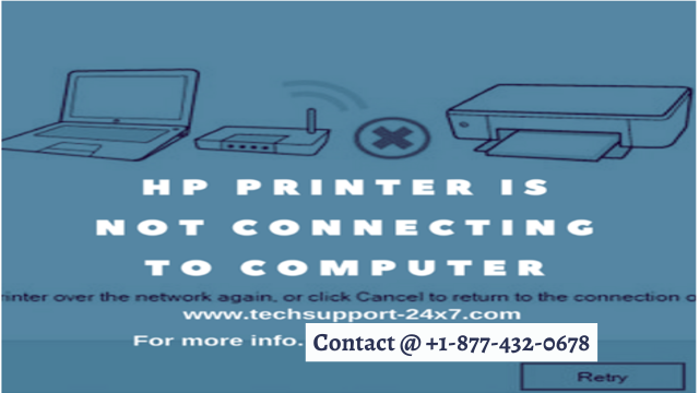 [SOLVED] HP PRINTER IS NOT CONNECTING TO COMPUTER