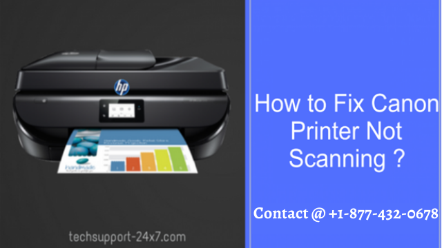 HOW TO FIX CANON PRINTER NOT SCANNING