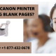 WHY MY CANON PRINTER PRINTING BLANK PAGES