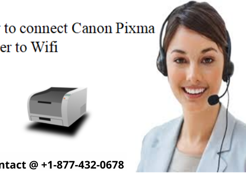 HOW TO CONNECT CANON PIXMA PRINTER TO WIFI