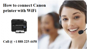 How to connect Canon printer with Wifi