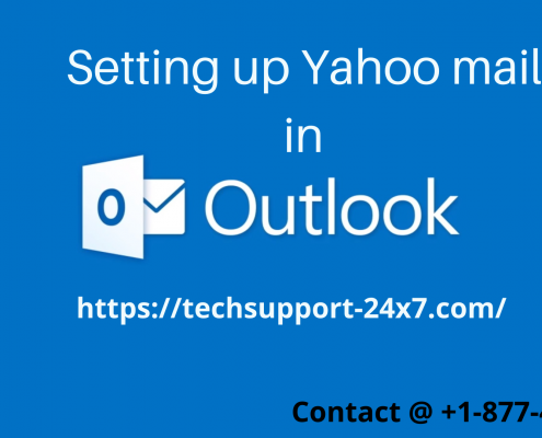 setting up Yahoo mail in Outlook