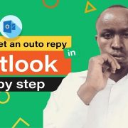 set up auto reply in outlook 2010
