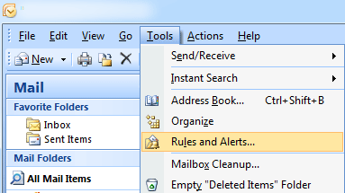 rules and alerts tools