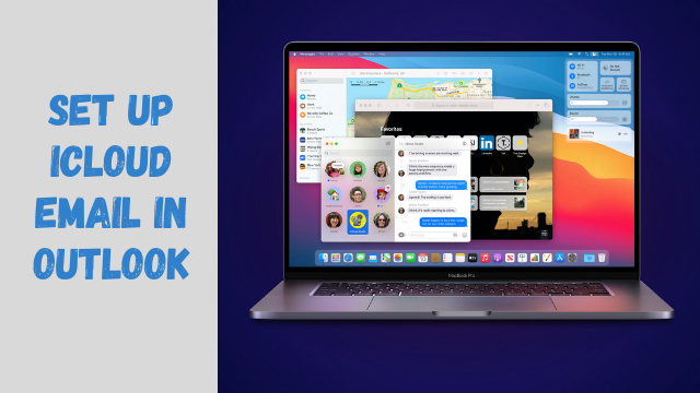 Set up iCloud email in outlook