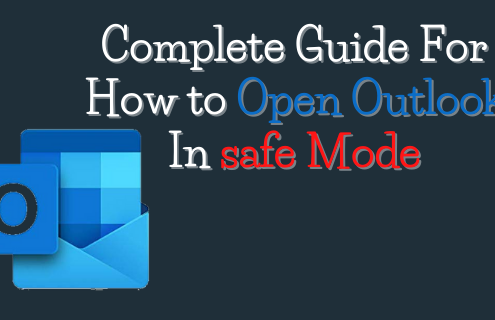 Open outlook in safe mode