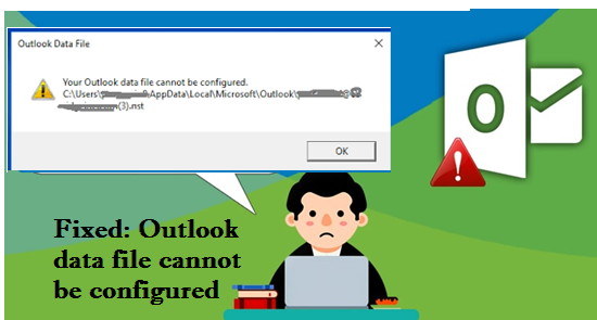 outlook data file cannot be configured